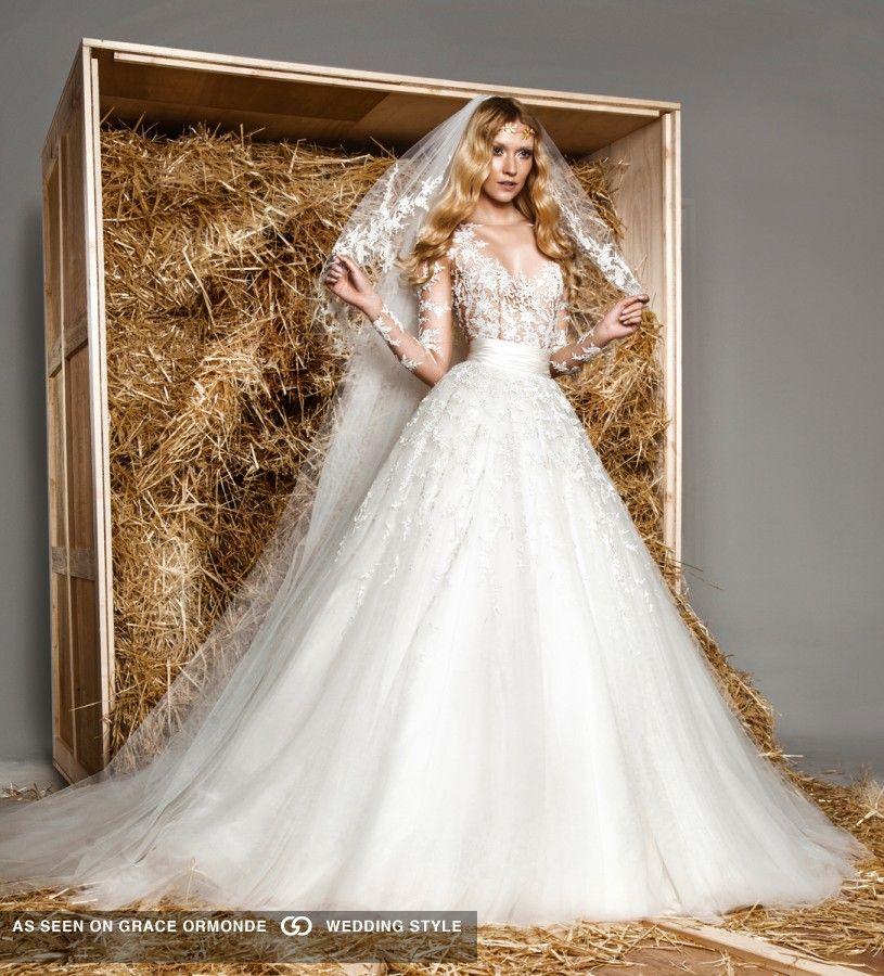 zuhair murad spring 2015 wedding gown | fashion | Pinterest | Zuhair ...