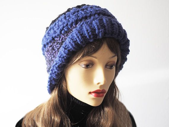 ac70380bf45 Purple cloche hat