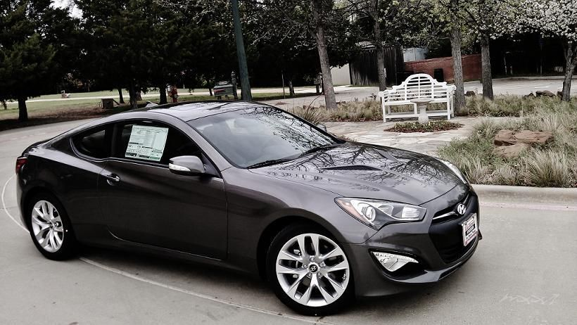 Hyundai Genesis Coupe 2014 Black