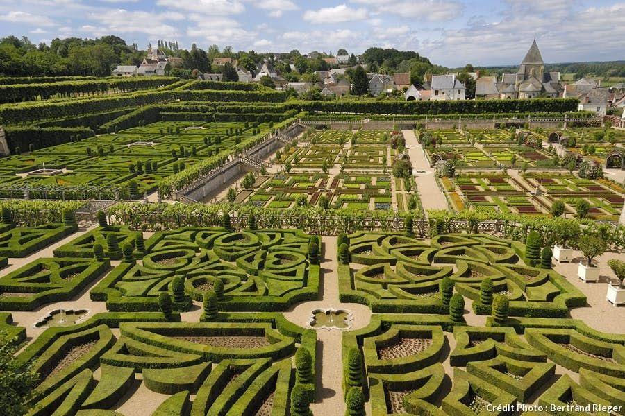 Les 30 Merveilles De France Chateau De Villandry Beaux Jardins