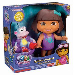 Fisher Price Dora The Explorer Splash Around Dora Boots