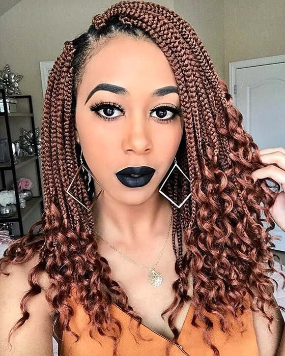 Stunning Crochet Box Braids Hairstyles With Images Short Box