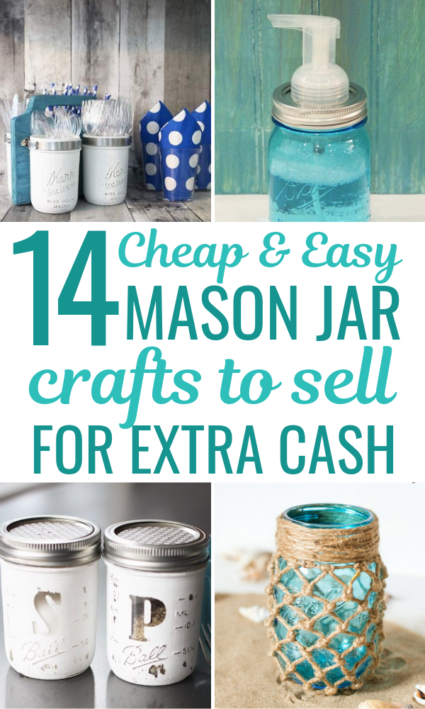 15 Diy Mason Jar Crafts To Sell For Extra Cash That You Need To Know About Easy Mason Jar Crafts Mason Jar Crafts Diy Mason Jar Candles