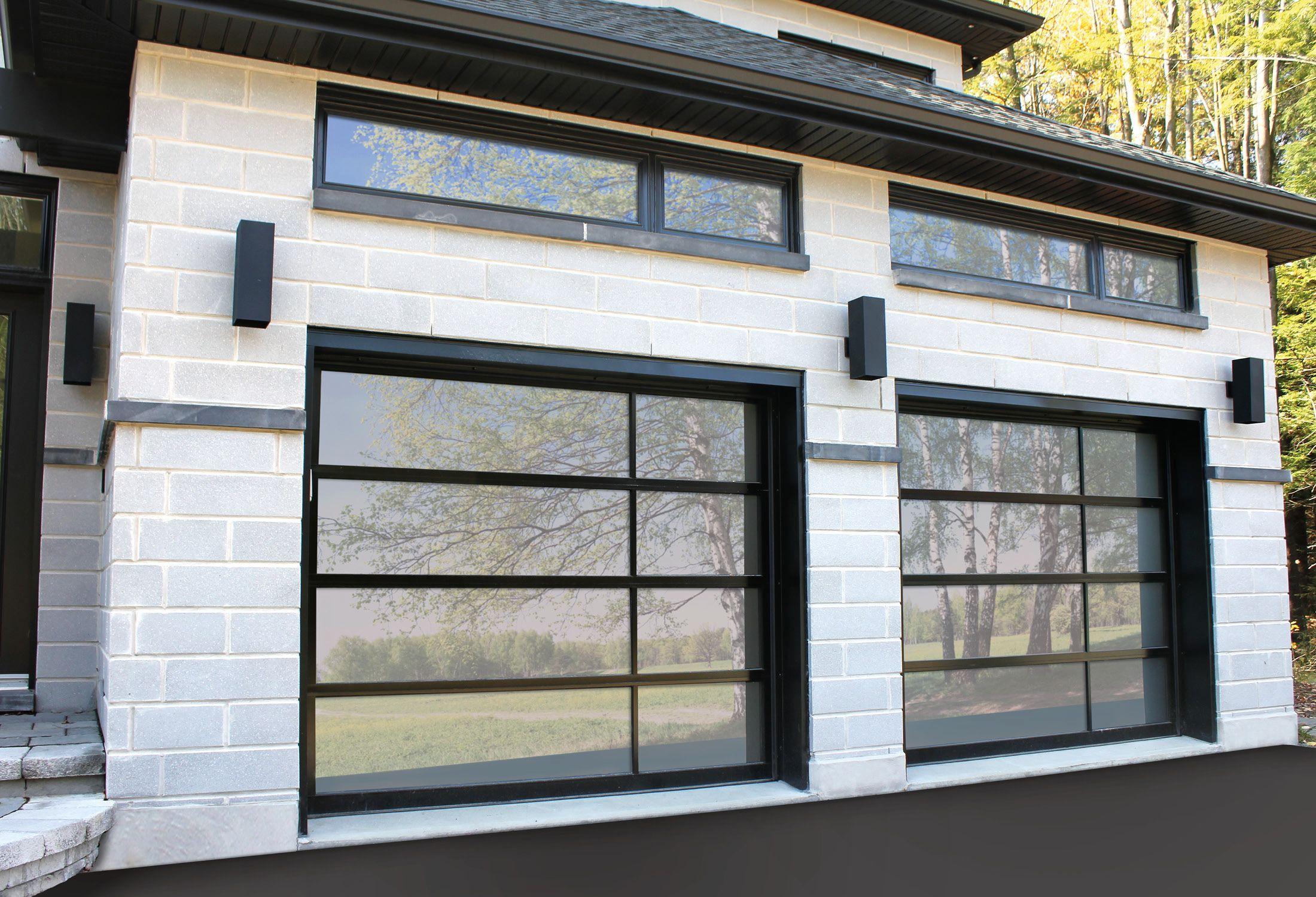 Porte De Garage Maison Moderne | Porte De Garage Assortie à La ...