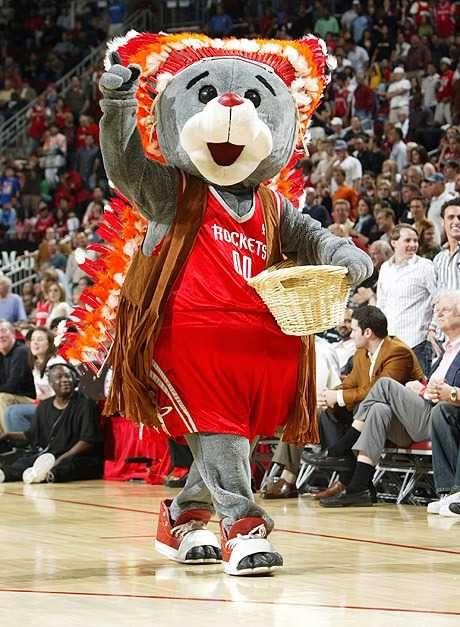 Nba Mascot Houston Rockets Houston Rockets Basketball Mascot