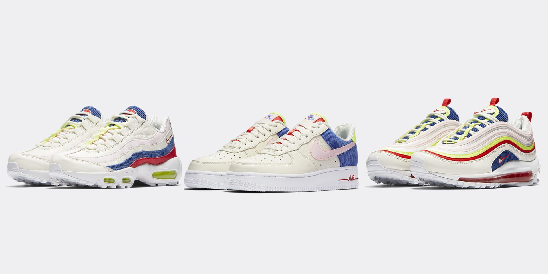 """Nike Sportwear is releasing a """"Corduroy"""" collection.  Nike  Airmax   Airforce1  Corduroy  Spring  Sneakers cbe83444d"""