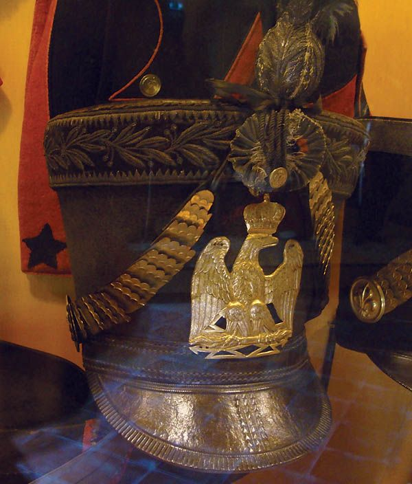Shako form an officer of the young guard