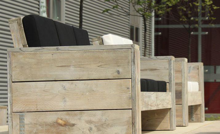 Gartenmöbel aus altem holz  Lounge 3er Sofa » WITTEKIND Gartenmöbel » Holz Gartenmöbel ...