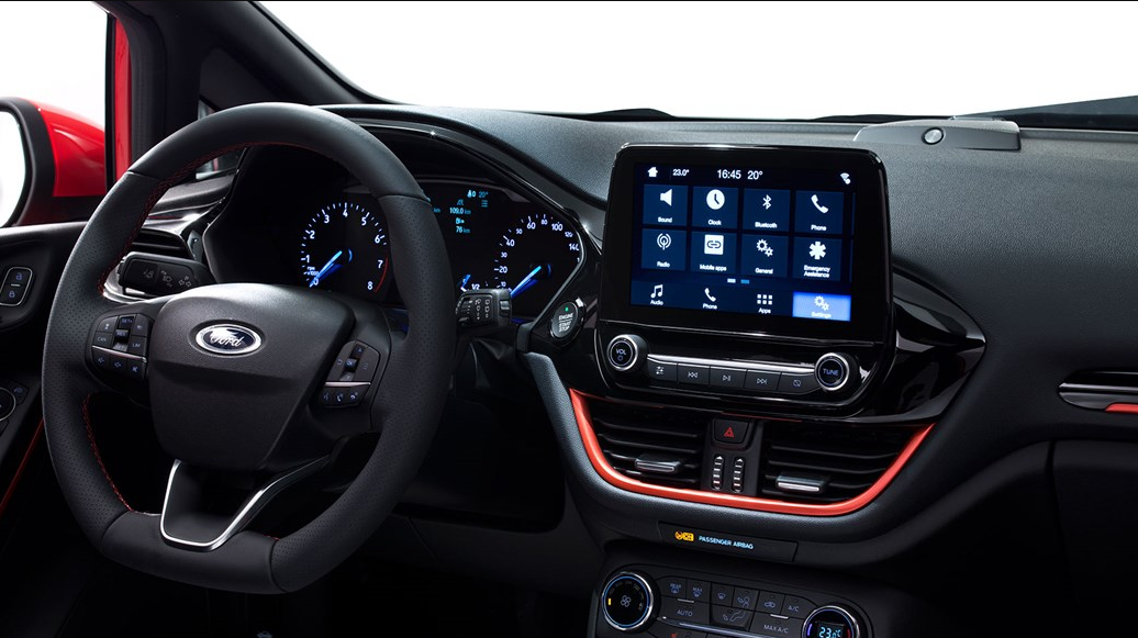 2018 Ford Fiesta Rs Technology On Cabin