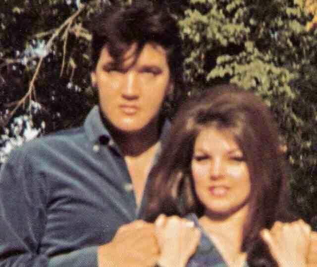 Février 1968  Elvis & Priscilla