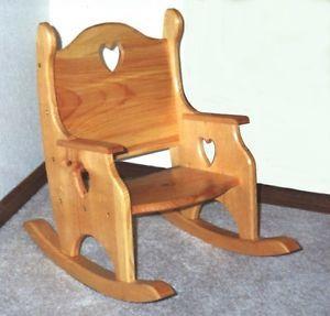 Rocking Chair Moveis Brinquedos De Madeira De Madeira