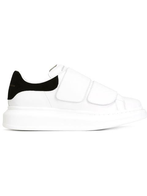 Alexander McQueen velcro strap sneakers Velcro Shoes, Velcro Straps,  Alexander Mcqueen Sneakers Women, 6907508dbac