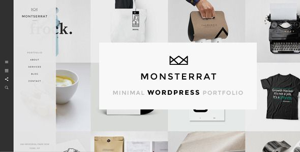 Monsterrat Minimal Wordpress Portfolio Theme Tattoes Html