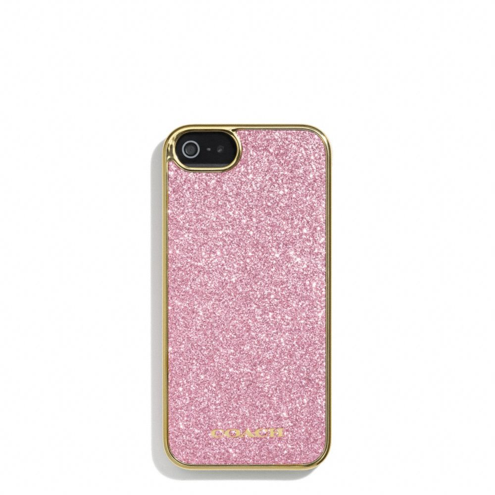The Glitter Inlay Iphone 5 Case from Coach $48   Gifts for the ...