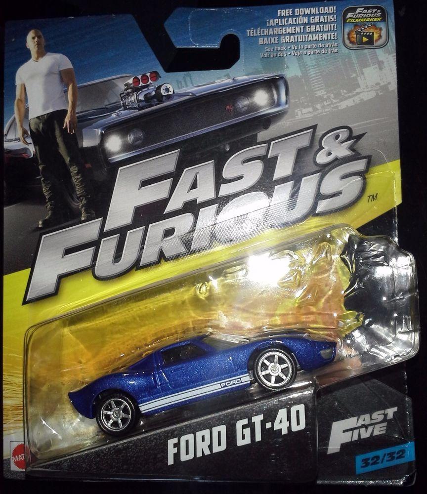 Mattel Fast Furious Filmmaker Fast Five   Ford Gt