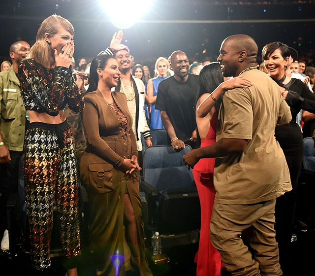 Unseen Moments From The Vmas Afterparties Audience Reactions More Kanye West Kim K And Kanye Kardashian