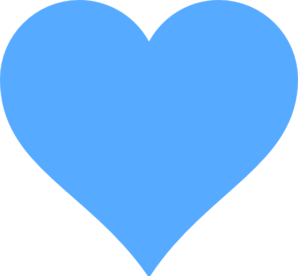 Pin By Caren Nalber On Hearts Clip Art Blue Heart Cute Wallpaper For Phone