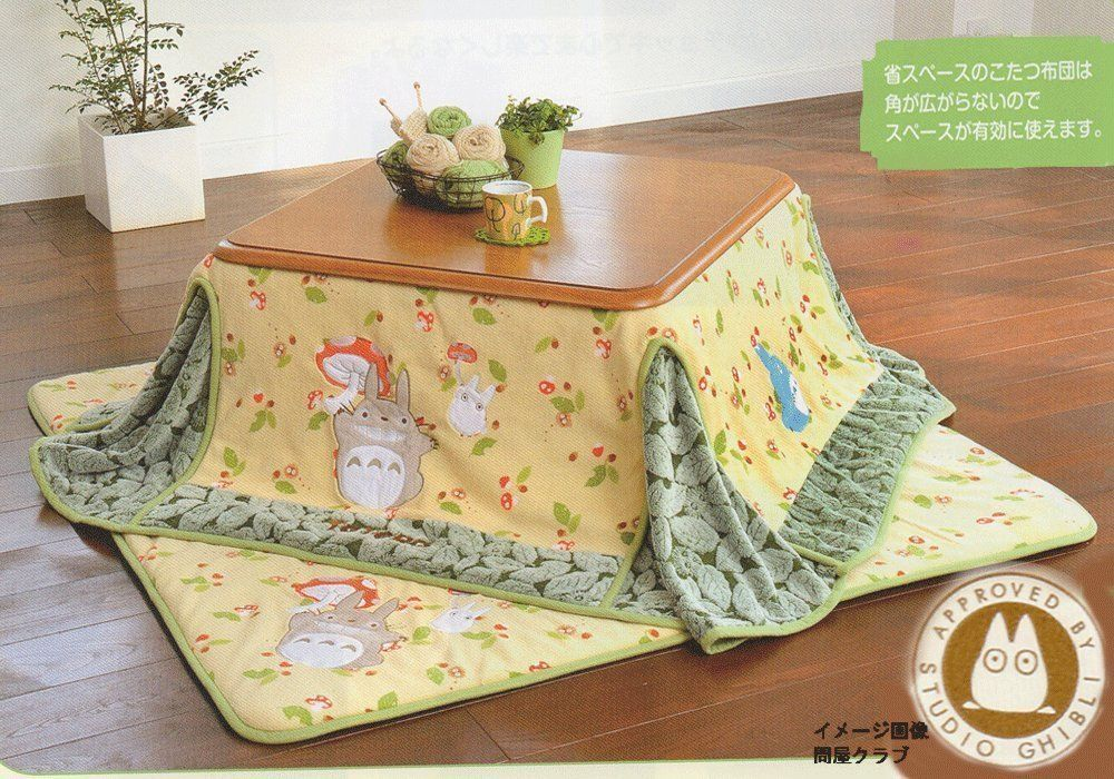 My Neighbor Totoro Square Kotatsu Futon Cover Mat Set Studio Ghibli In Collectibles Animation Art Characters Japanese Anime