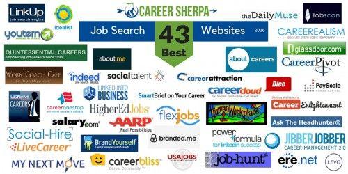 43 Best Job Search Websites 2016 Employment Resources Pinterest