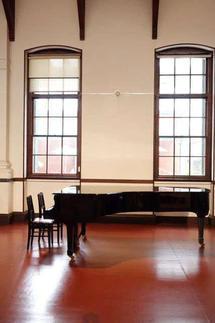 Grand piano, The Museum of Kyoto, The former Bank of Japan-Kyoto