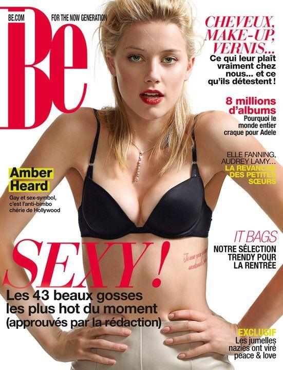 Magazine Be N 73 Http Www Be Com Amber Heard Amber Heard Amber Heard Tattoo Amber Heard Bikini