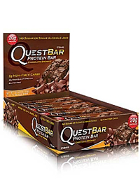 Quest Bars Buy Questbar Chocolate Brownie 12 Bars At The Vitamin