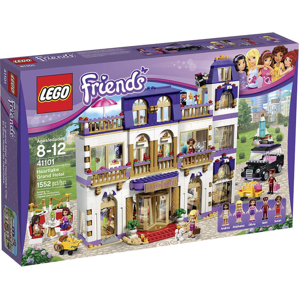 Lego Friends 41101 Heartlake Grand Hotel Brand New Factory Sealed