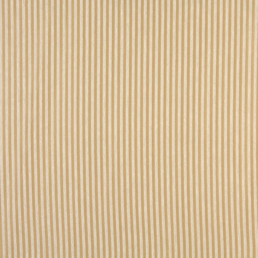 The K0219 SESAME STRIPE upholstery fabric by KOVI Fabrics features Small Scale, Stripe pattern and Gold or Yellow, White or Off-White as its colors. It is a Damask or Jacquard type of upholstery fabric and it is made of 56% Acrylic, 44% polyester material. It is rated Exceeds 45,000 Double Rubs (Heavy Duty) which makes this upholstery fabric ideal for residential, commercial and hospitality upholstery projects. For Help Please Call 800-8603105.