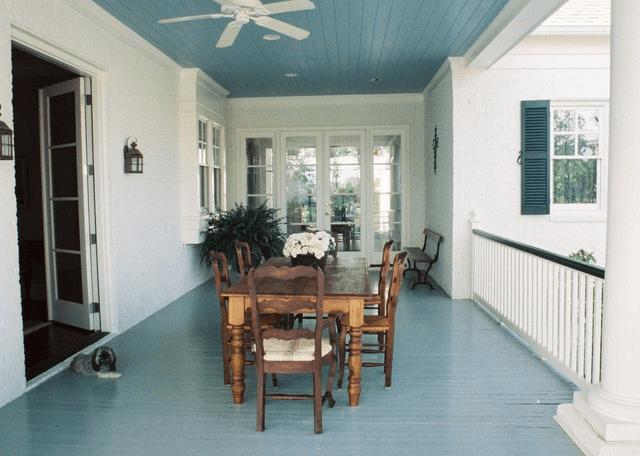 Blue Porch Floor Paint Color Ideas Blue Porch Ceiling Haint