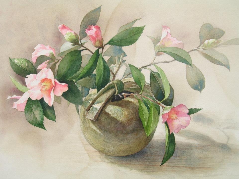 ttps://www.facebook.com/MiaFeigelson By Yu Hoshino, from Kitakyushu, Fukuoka Prefecture, Japan - watercolor on paper - https://www.facebook.com/yu.hoshino.5 http://www.muse.dti.ne.jp/grassbird/index.html