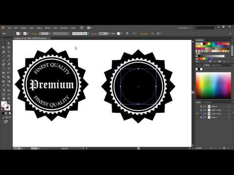 quick tip how to create a retro style textured logo youtube