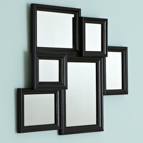 Black Vintage Collage Framed Mirror | Soo Krafty! | Pinterest ...