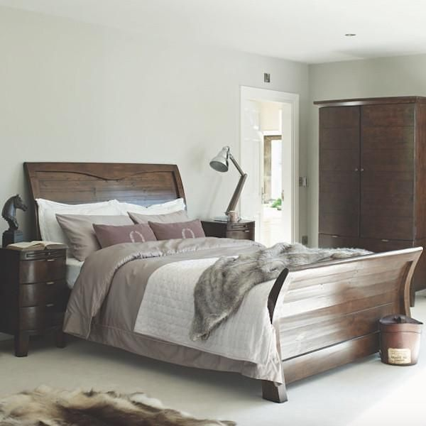 Beam Henley Reclaimed Wood Bed Superking Bed Rustic Wooden Bed Reclaimed Wood Beds