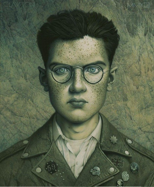 Tomas Clayton Mixes Various Time Periods in his Stylized Portraits | Hi-Fructose Magazine