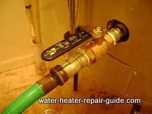 How To Install Ball Valve For Draining Sediment From Hot Water Heater More  Easily If Heateru0027s. Garden HoseWater HeatersClogs