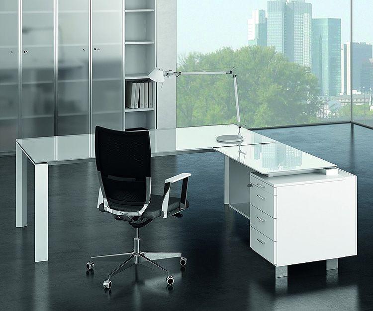 Exceptionnel Office Desks Glass. Glass Executive Desks Office S