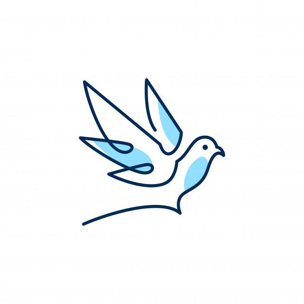 Turtle Doves Logo Google Search Dove Logo Design Sky Logo Vector Logo