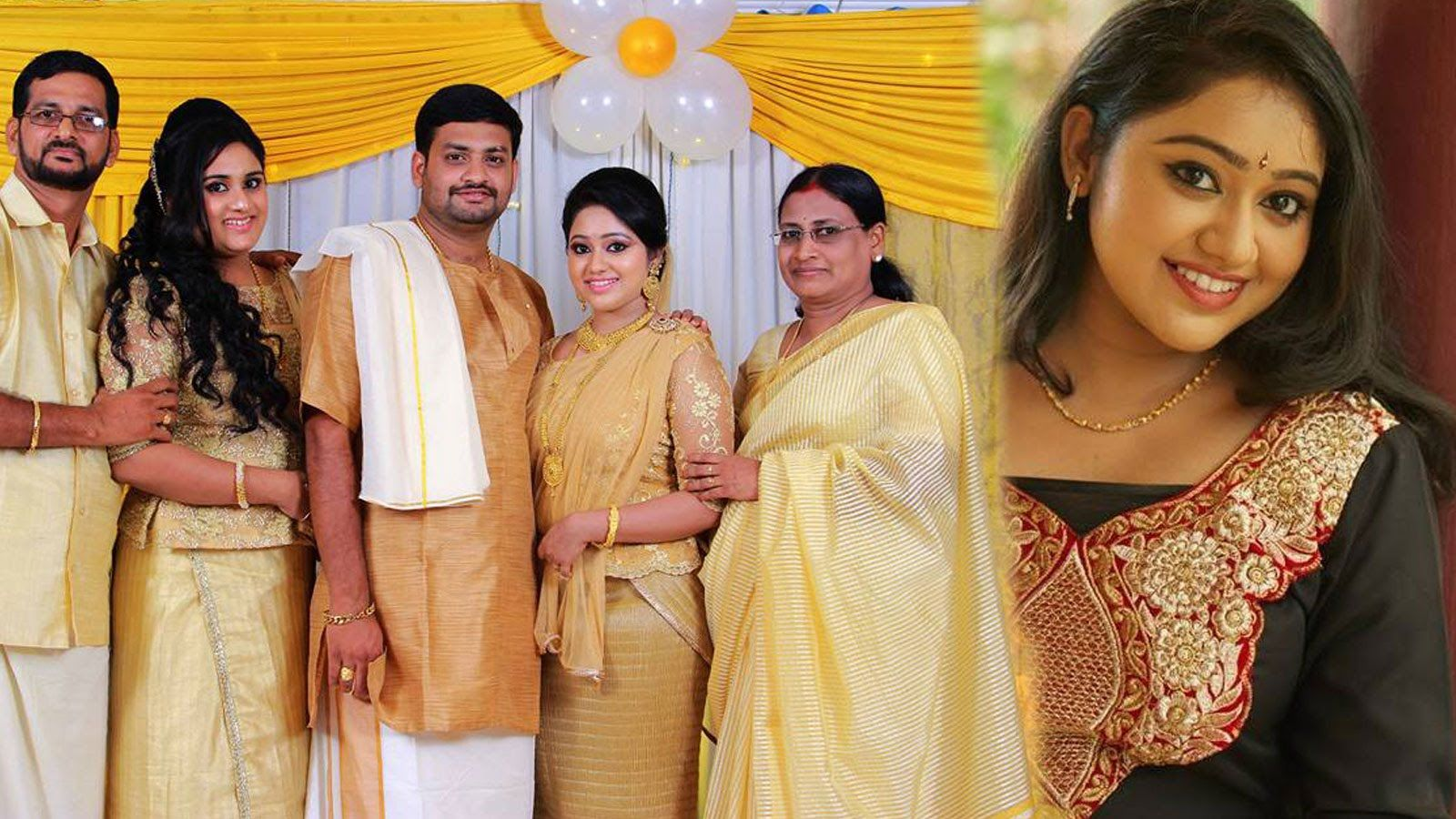 Deivam Thandha Veedu Seetha - Actress Meghna Vincent with Family ... for Serial Actress Priya Mohan Wedding Photos  173lyp
