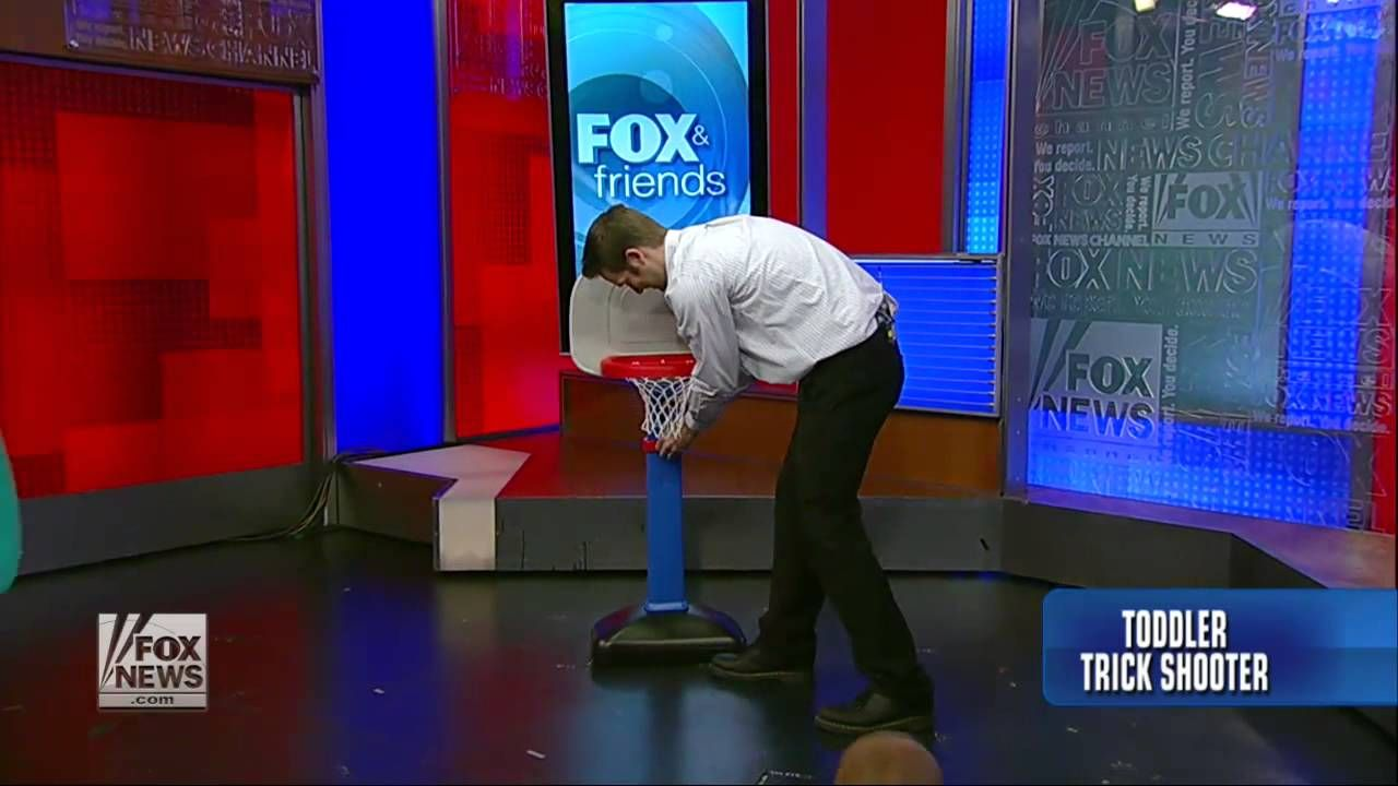 Titus Does a Trick Shot Video on fox news New tricks