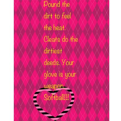 See more great softball videos, pictures and posters by Liking us on Facebook: https://Facebook.com/BestSoftballVideos