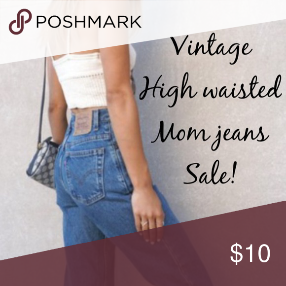 🍂Sale on most vintage high waisted mom jeans🍂 🍂Sale on almost entire stock! Find the perfect high waisted mom jeans in my closet this weekend while they last! Shop vintage Levi's, Calvin Klein, misc 90s brands. Dark, light and medium washes, black, white and denim! Prices dropped. Bundle 2+ items for 10% off. Special deals on 3+ items , please ask for more information if interested! 🍂 Levi's Other