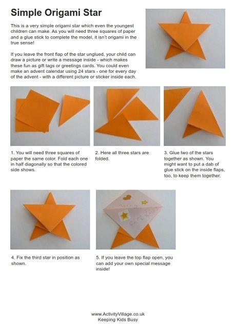 Origami Star Instructions Origami Stars Origami Star Instructions Origami Easy