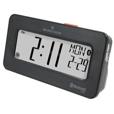 Marathon Watch Company Desktop Alarm Clock Color: Brushed Graphite