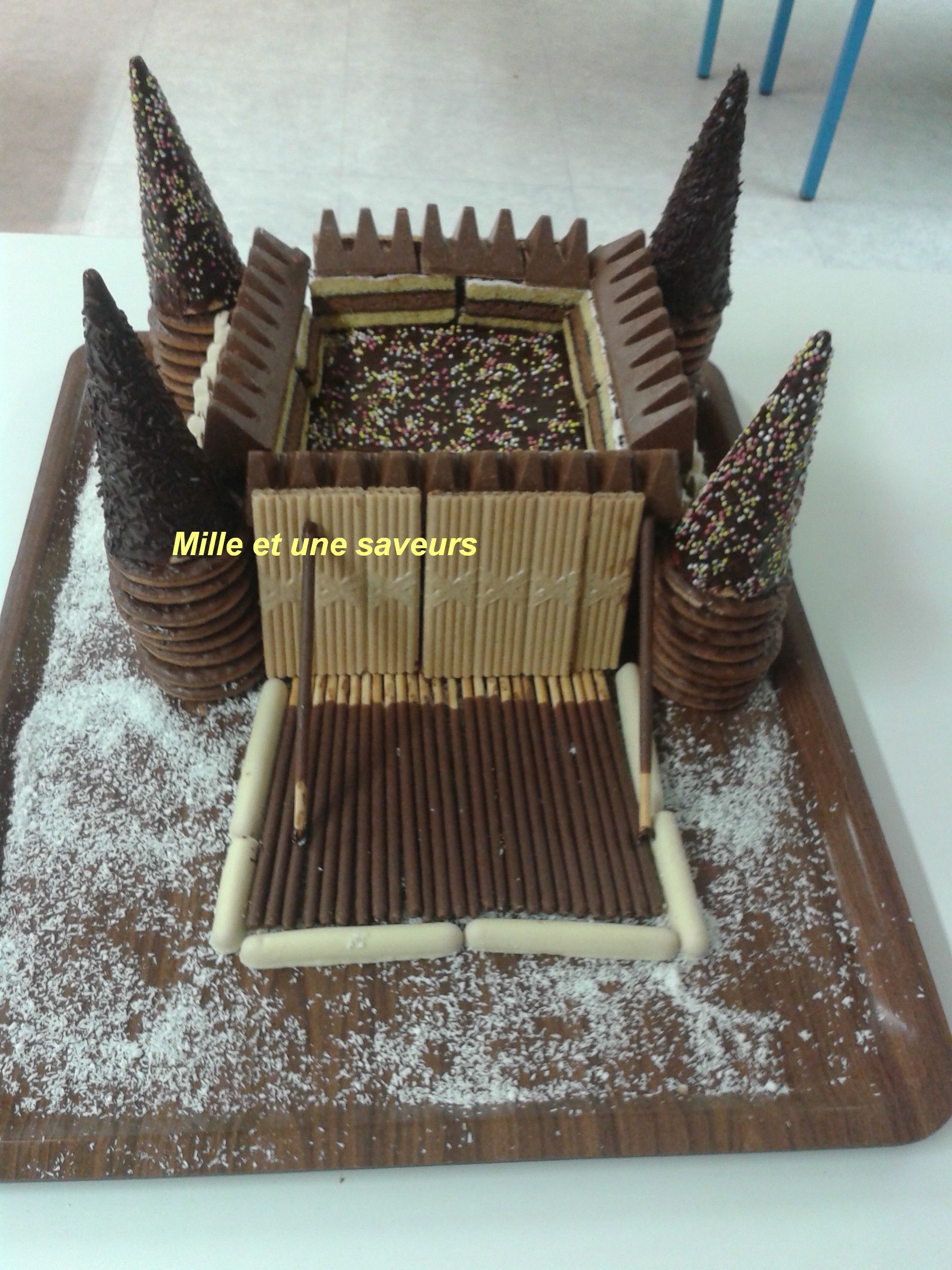 Decoration Gateau Chevalier Chateau Fort Enfants Cake Birthday Cake Et Birthday