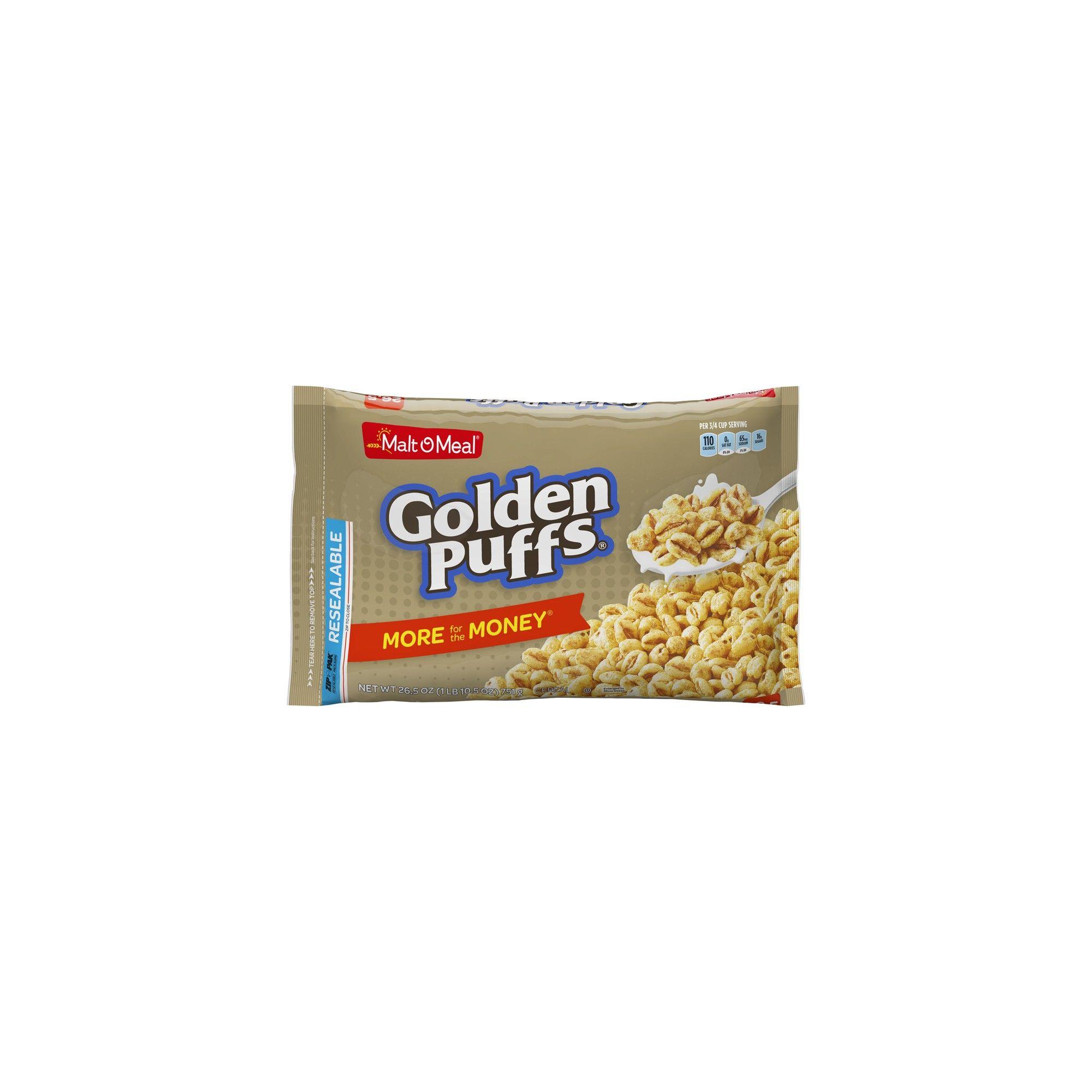 Golden Puffs Breakfast Cereal