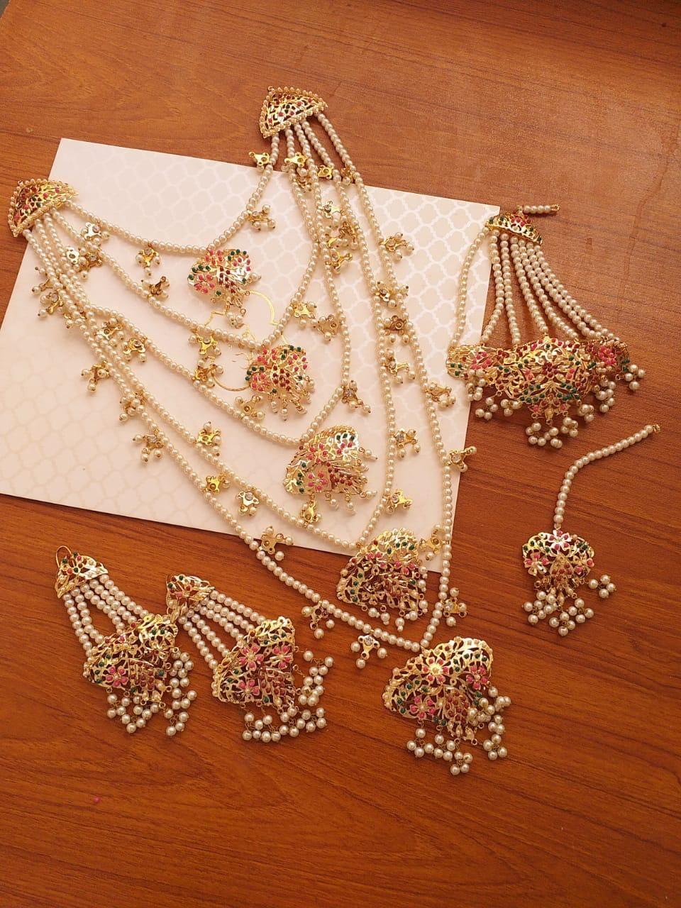 Be 73 Noratan Haar Set Eleganza Bridal Gold Jewellery Designs Bridal Jewellery Inspiration Gold Necklace Indian Bridal Jewelry