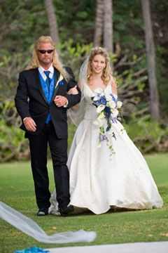 Dog the bounty hunter baby lyssa becomes a bride dog for Is dog the bounty hunter still married