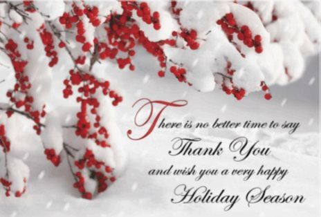 Thank You Holiday Free Greeting Card Template 60% off ends ...