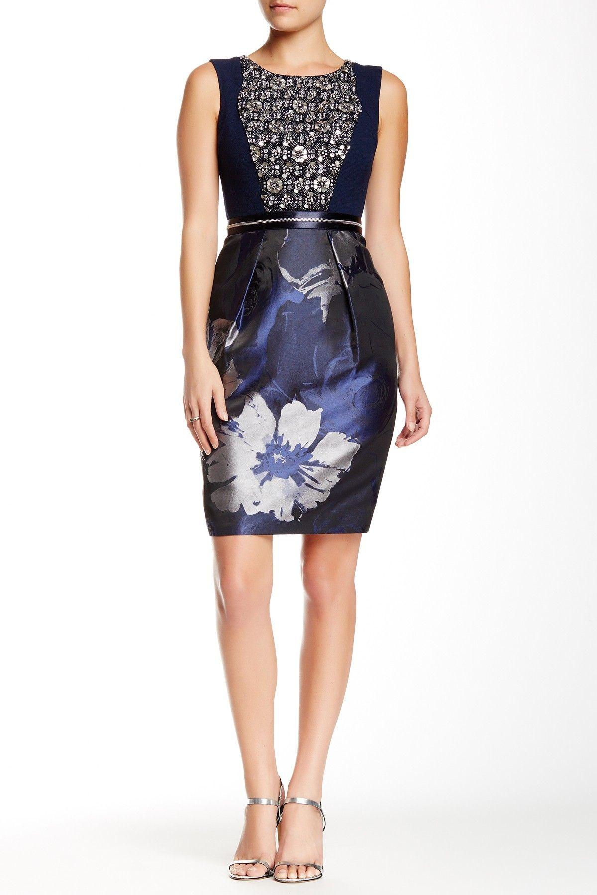 Embellished Dress by Carmen Marc Valvo on @HauteLook