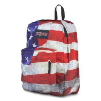 JanSport High Stakes Backpack, Black Laser Lace